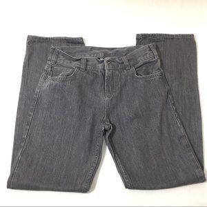 DC Grey Denim Straight Leg Kids Jeans 14